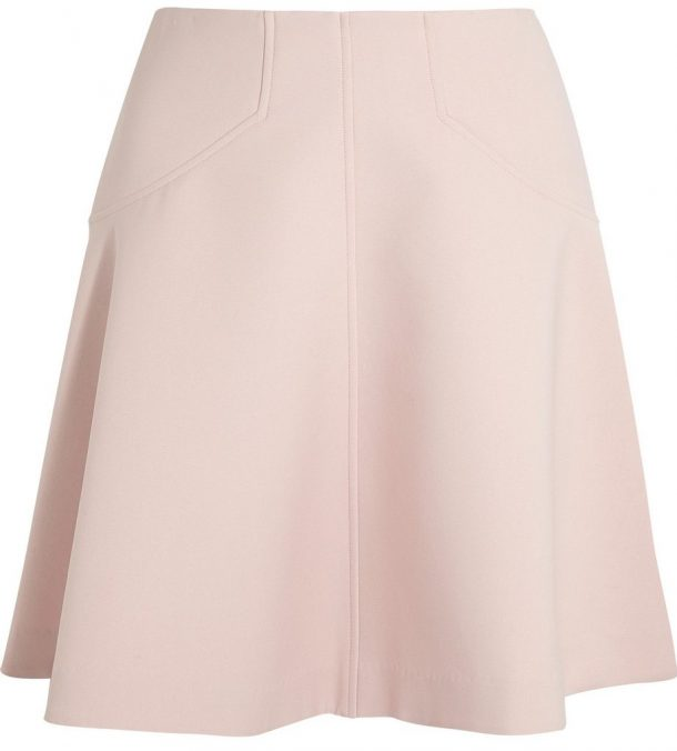 Lela Rose Blush Pink Skirt