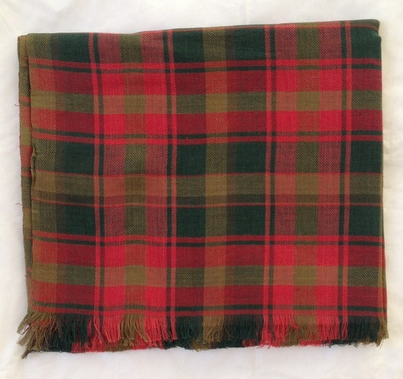 Maple Leaf Tartan Scarf
