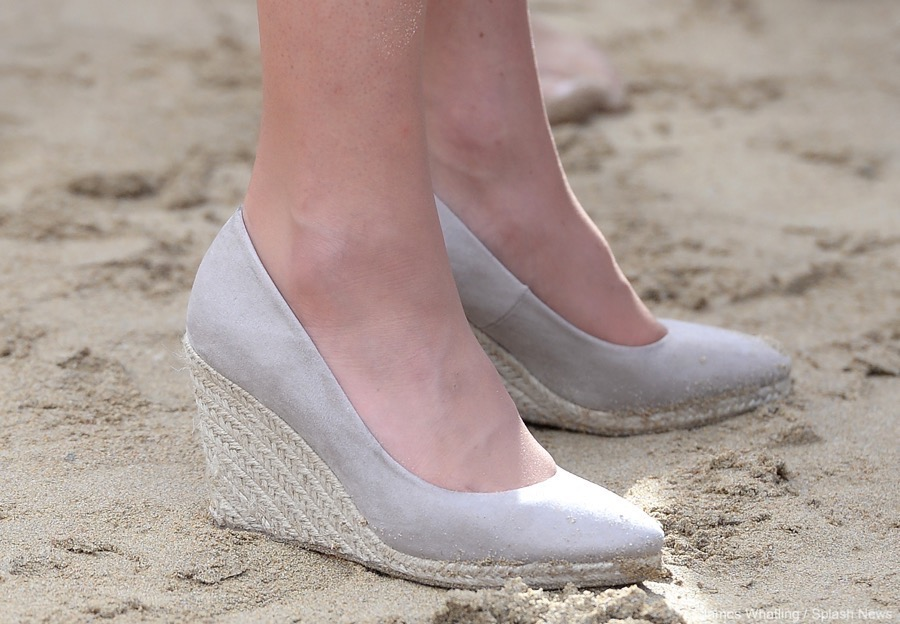 b969416980c Monsoon Fleur Espadrille Wedges worn by Kate Middleton in Taupe