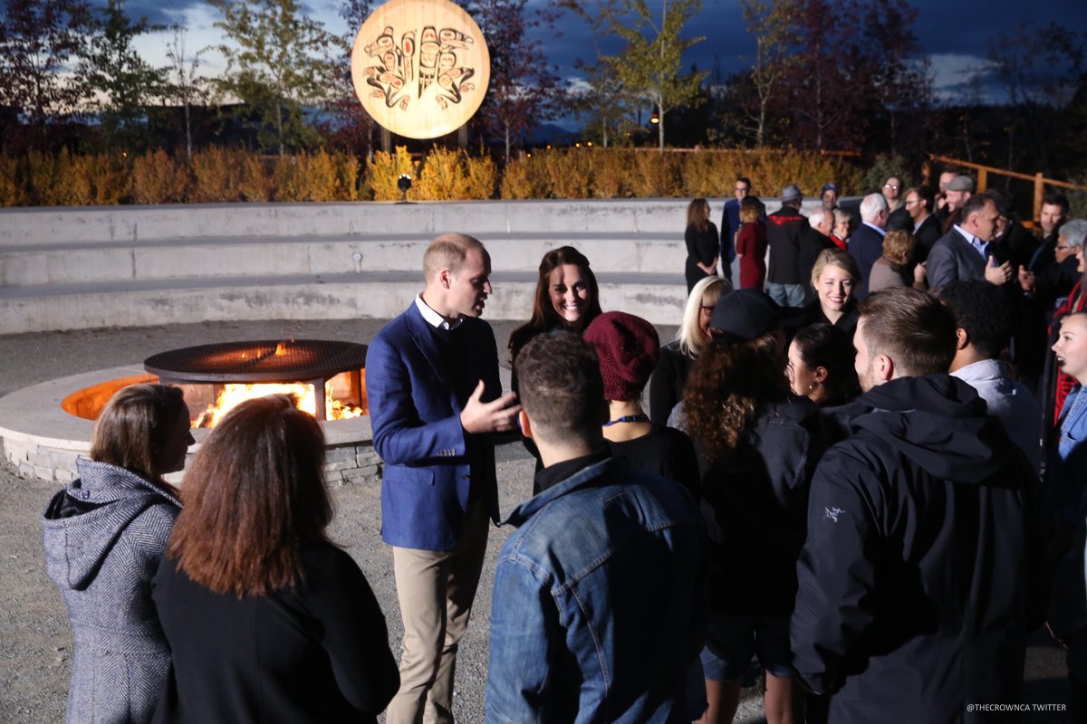 William and Kate meet young people from Yukon