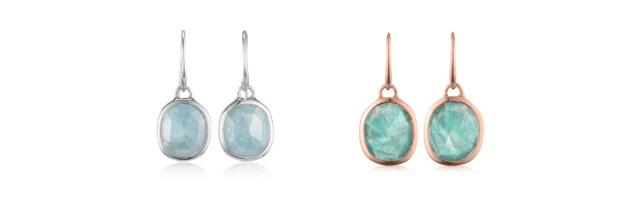 Monica Vinader Siren Earrings in Other Colours