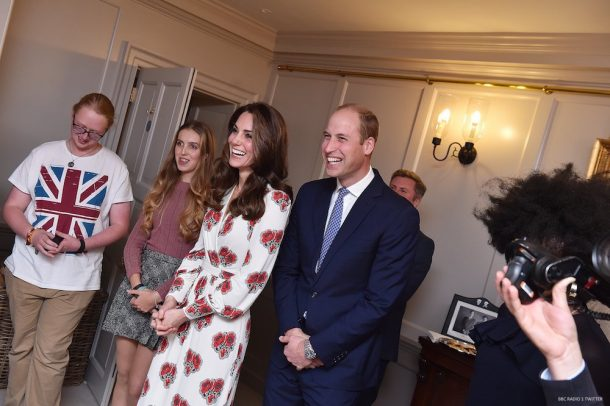 William and Kate meet the BBC Radio 1 Teen Heroes