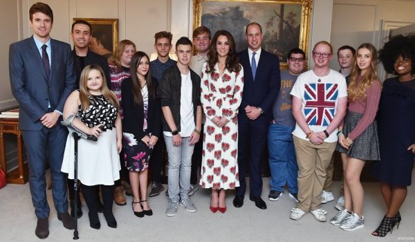 William and Kate meet with BBC Radio 1's Teen Heroes