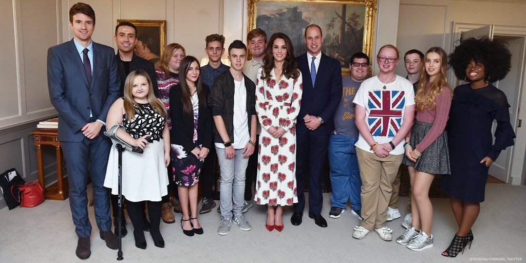 William and Kate Teen Heroes