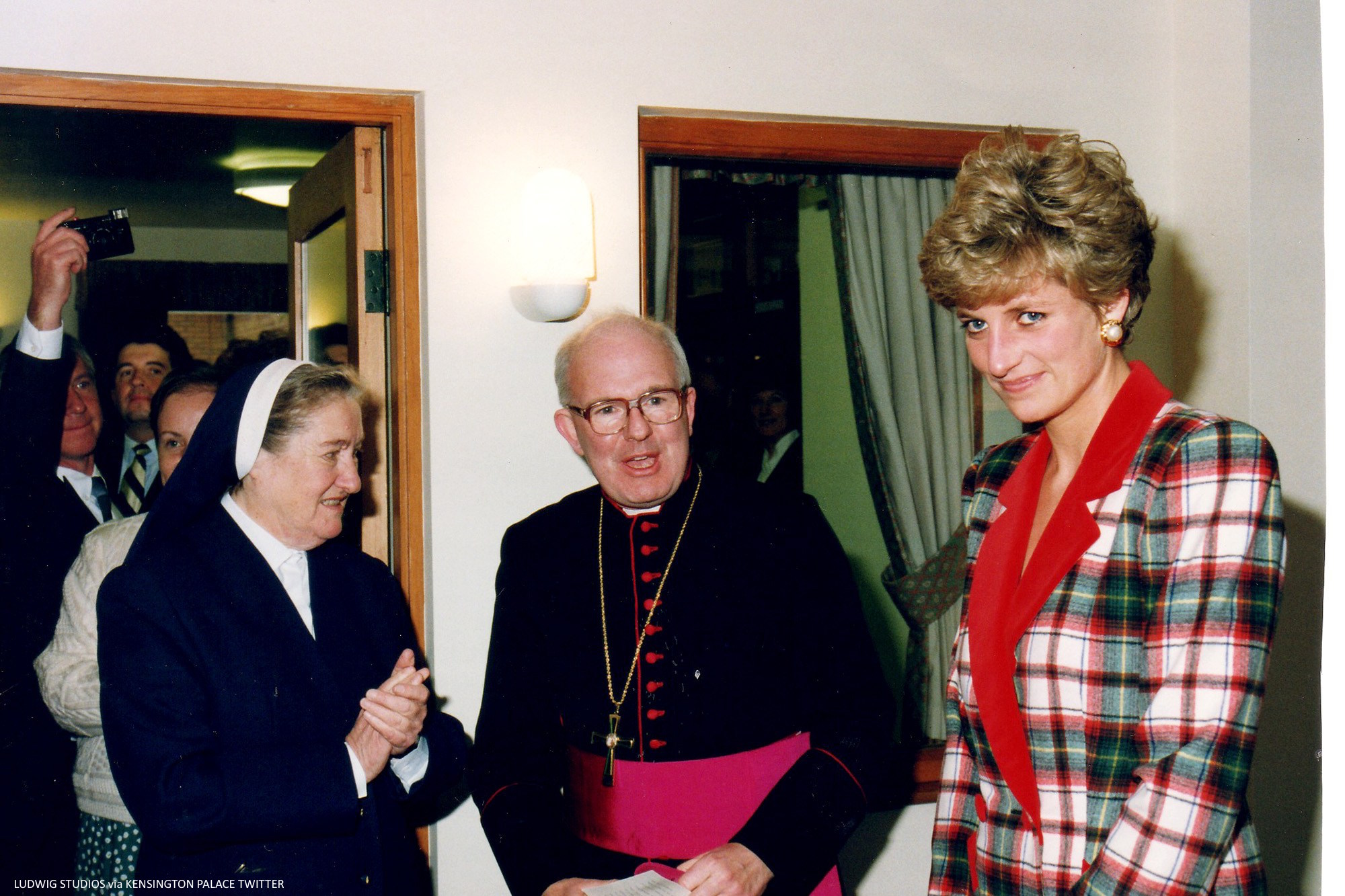 Hospice that Diana visited 25 years ago (today: 10/14/16) 10/14/16 Credit: Ludwig Studios