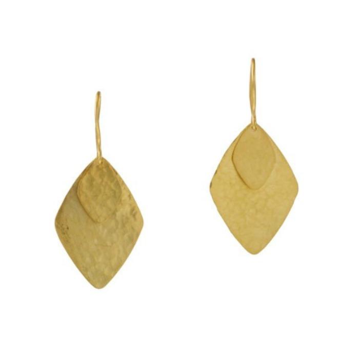 Pippa Small Large Kite Earrings