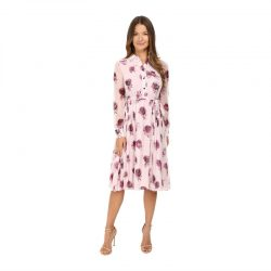 Kate Spade New York Encore Rose Print Dress