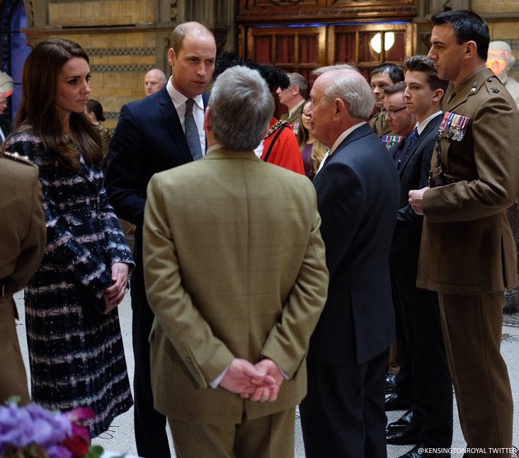 William and Kate in Manchester