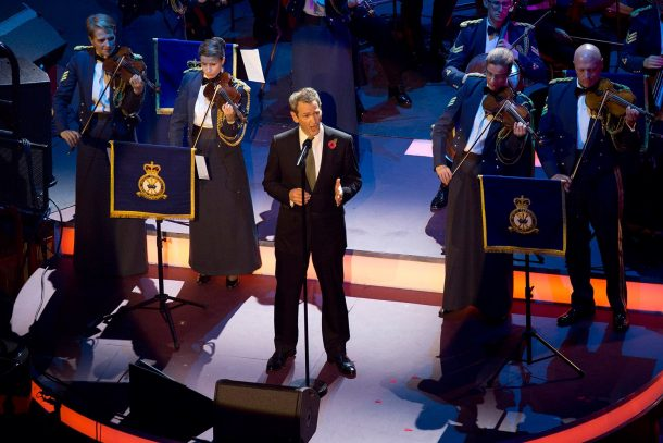 Alexander Armstrong - via Royal British Legion Facebook Page