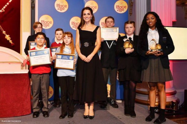 Kate Middleton attends the Place2Be Awards 2016