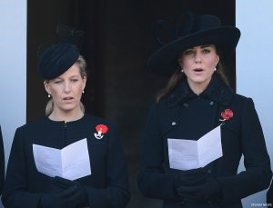 The Remembrance Sunday Service at the Cenotaph, London, UK.