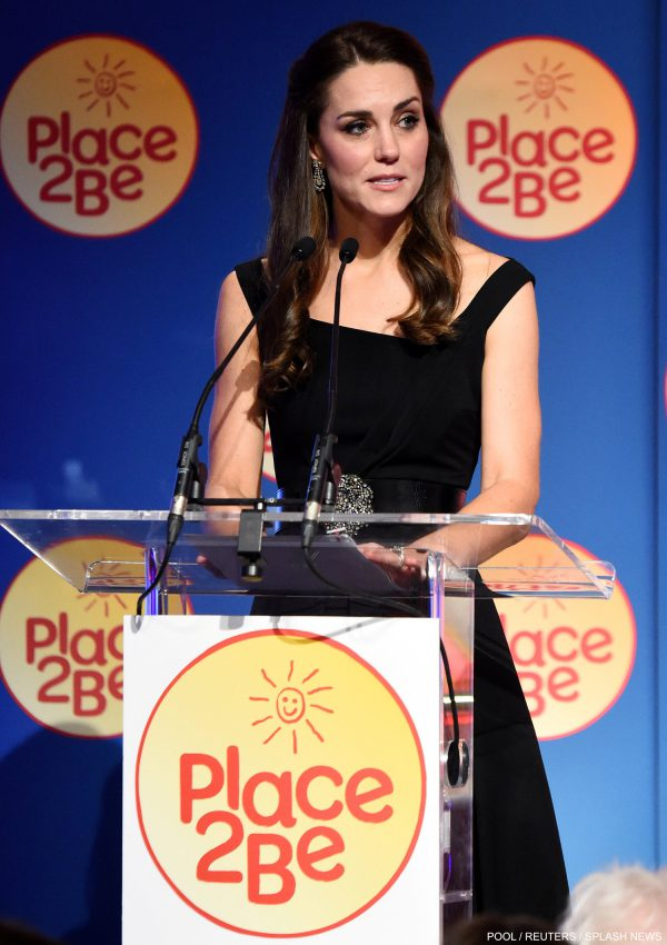 Kate wears Preen to Place2Be's Wellbeing in Schools Awards