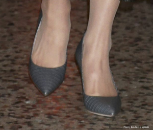Kate Middleton's new grey shoes