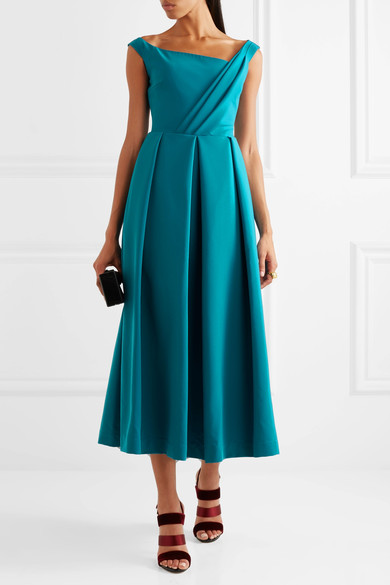 Preen Finella Dress in Teal
