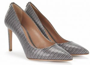 Hugo Boss Staple P90-L pumps in grey