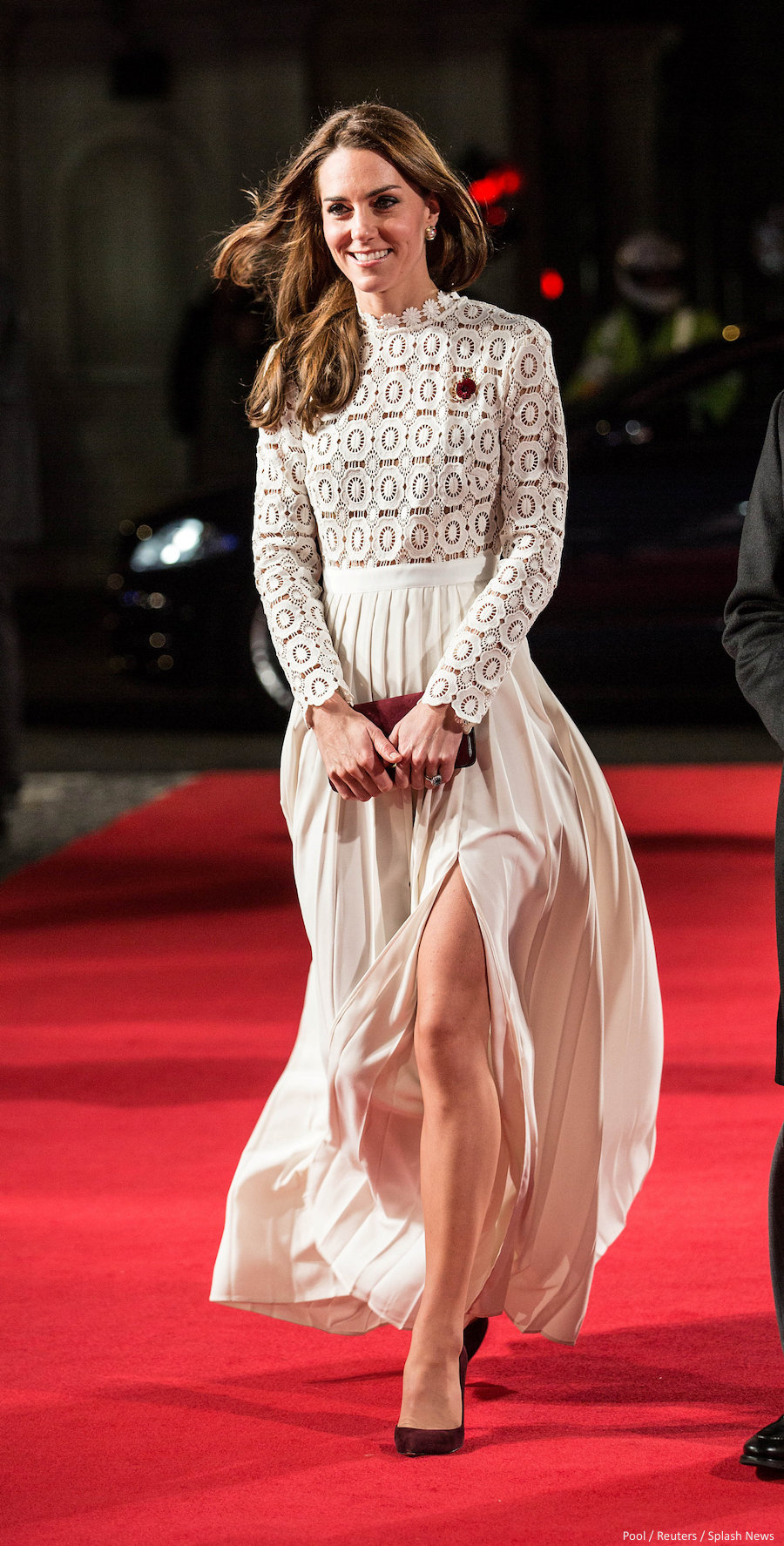 Kate Middleton wearing the Gianvito Rossi 105 pumps to a film premiere