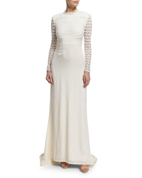 Self portrait pleated crochet maxi dress kate middleton for Self portrait wedding dress