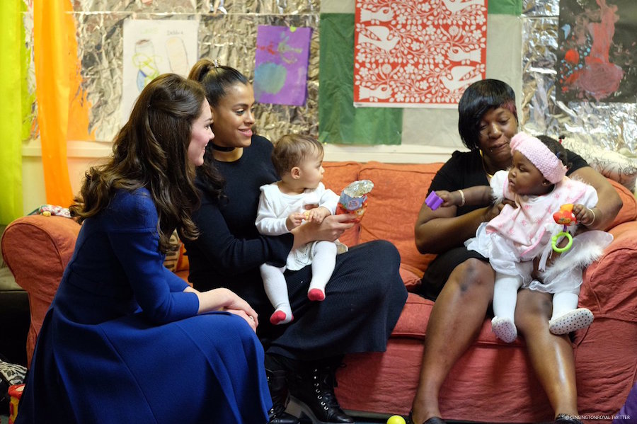 Kate Middleton visits the Anna Freud Centre