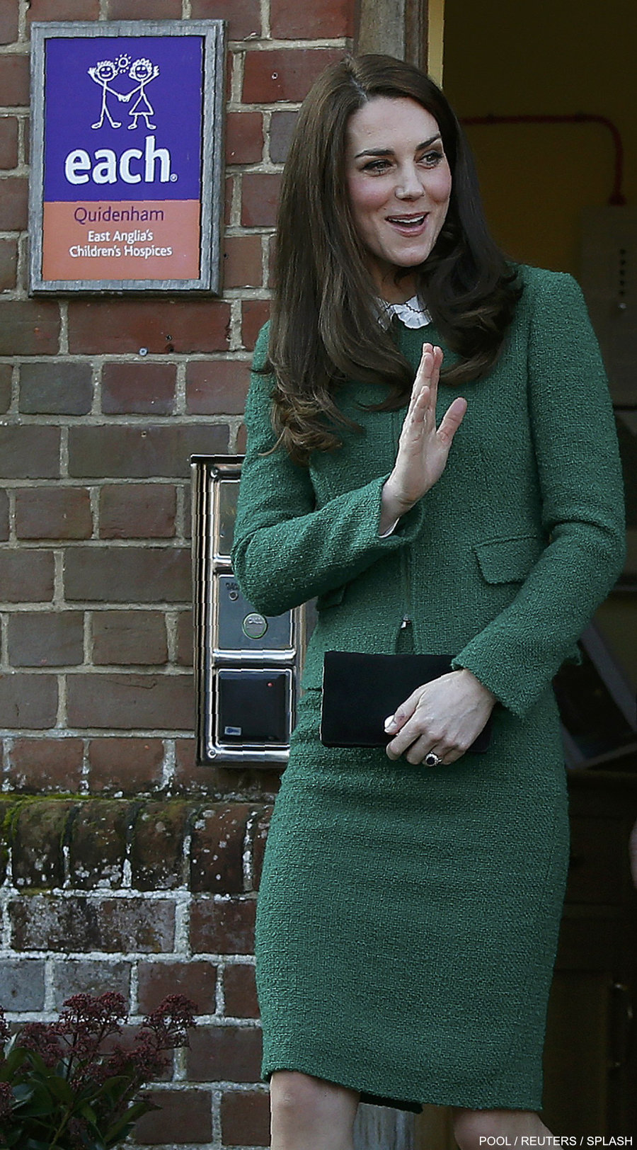 Britain's Catherine, Duchess of Cambridge, visits East Anglia's Children's Hospices (EACH) in Quidenham, Britain, January 24, 2017.