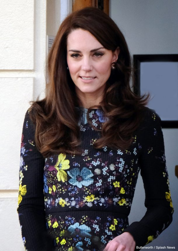 The Duchess of Cambridge at the Heads Together event today