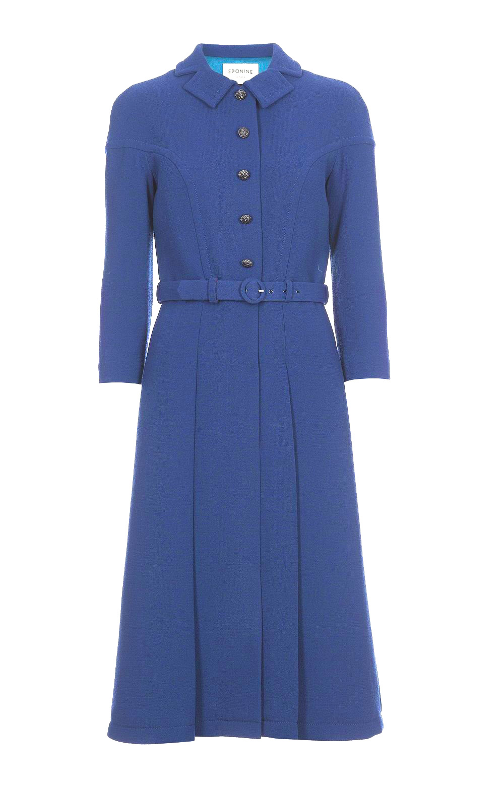Eponine Blue Coat Dress