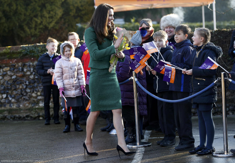 Kate Middleton Quidenham EACH visit