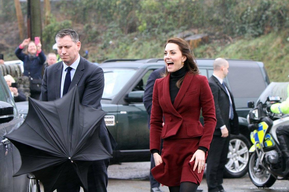 Kate Middleton visits Wales