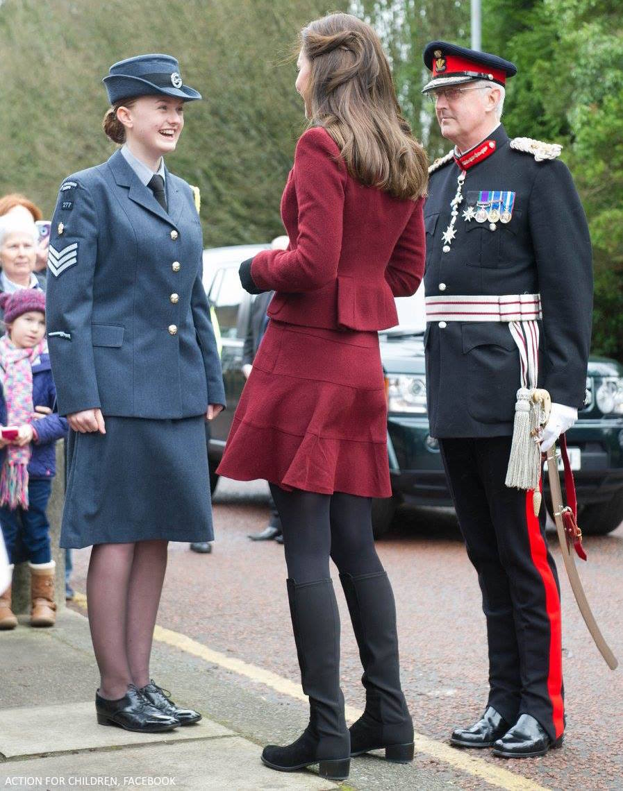 Kate Middleton's black boots