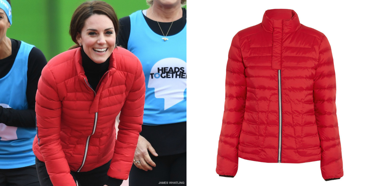 Kate Middleton S Perfect Moment Duvet Ii Ski Jacket In Red