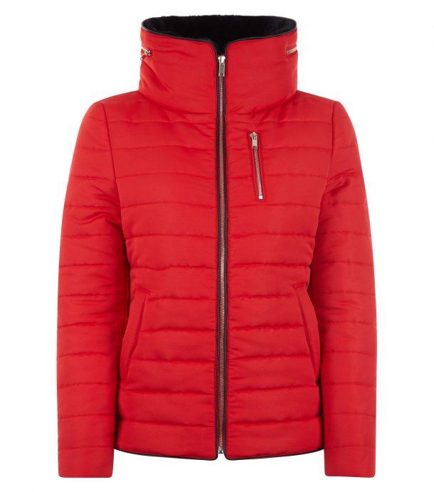 Copy Kate Middletons red ski jacket