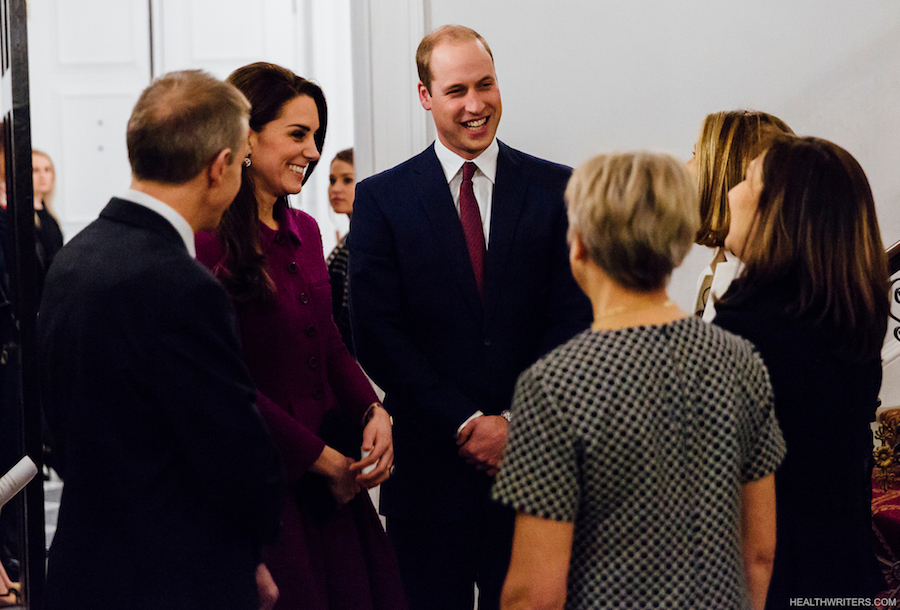 William and Kate attend the guild of health writers conference