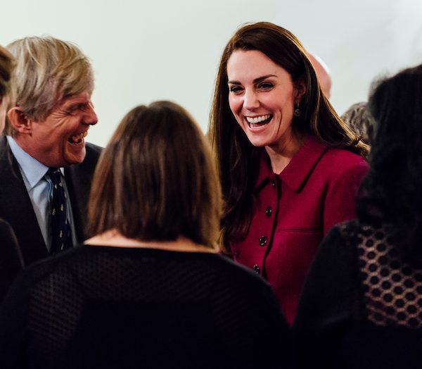 Kate Middleton attends the Guild of Health Writers Conference