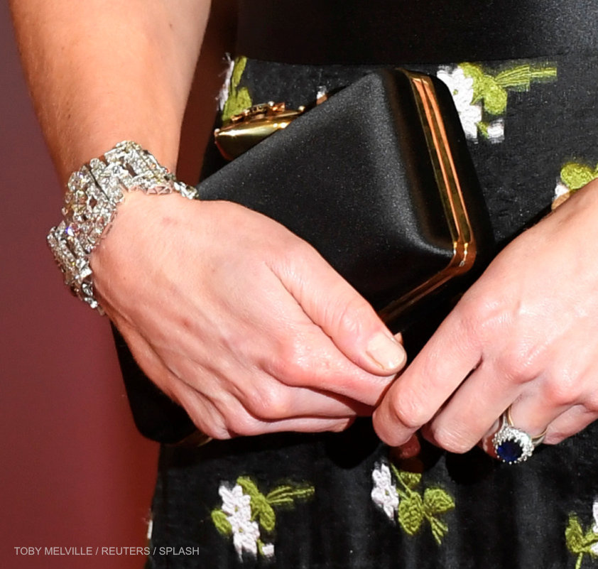 Kate Middleton's bracelet at the BAFTAS
