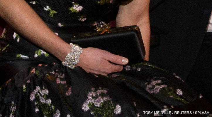 Kate Middleton's clutch bag at the BAFTAS