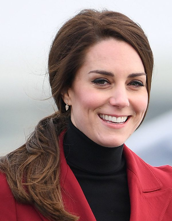 Kate Middleton visits the RAF Whittering in Cambridgeshire
