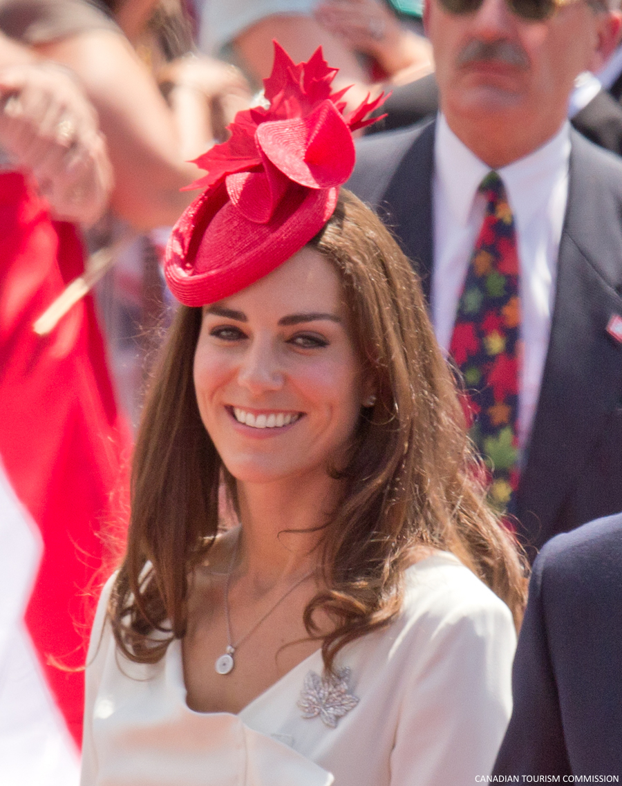 The Duke and Duchess of Cambridge arrive on Parliament Hill for Official Canada Day celebrations in Ottawa. Photo by Maurice Li.
