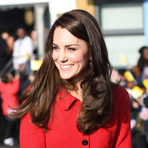 Kate delivers a speech at Place2Be's Big Assembly for Children's Mental Health Week 2017