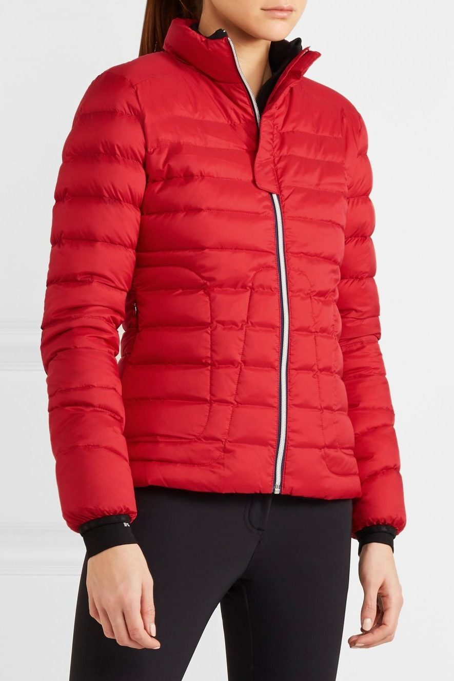Perfect Moment Duvet II Jacket in Red