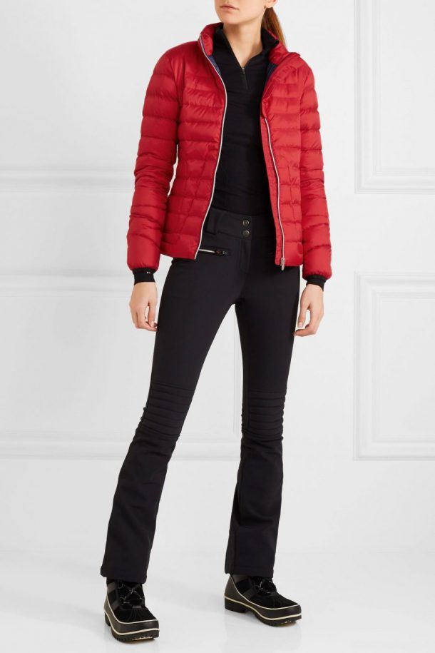 Perfect Moment Duvet II Jacket in Red at Net A Porter