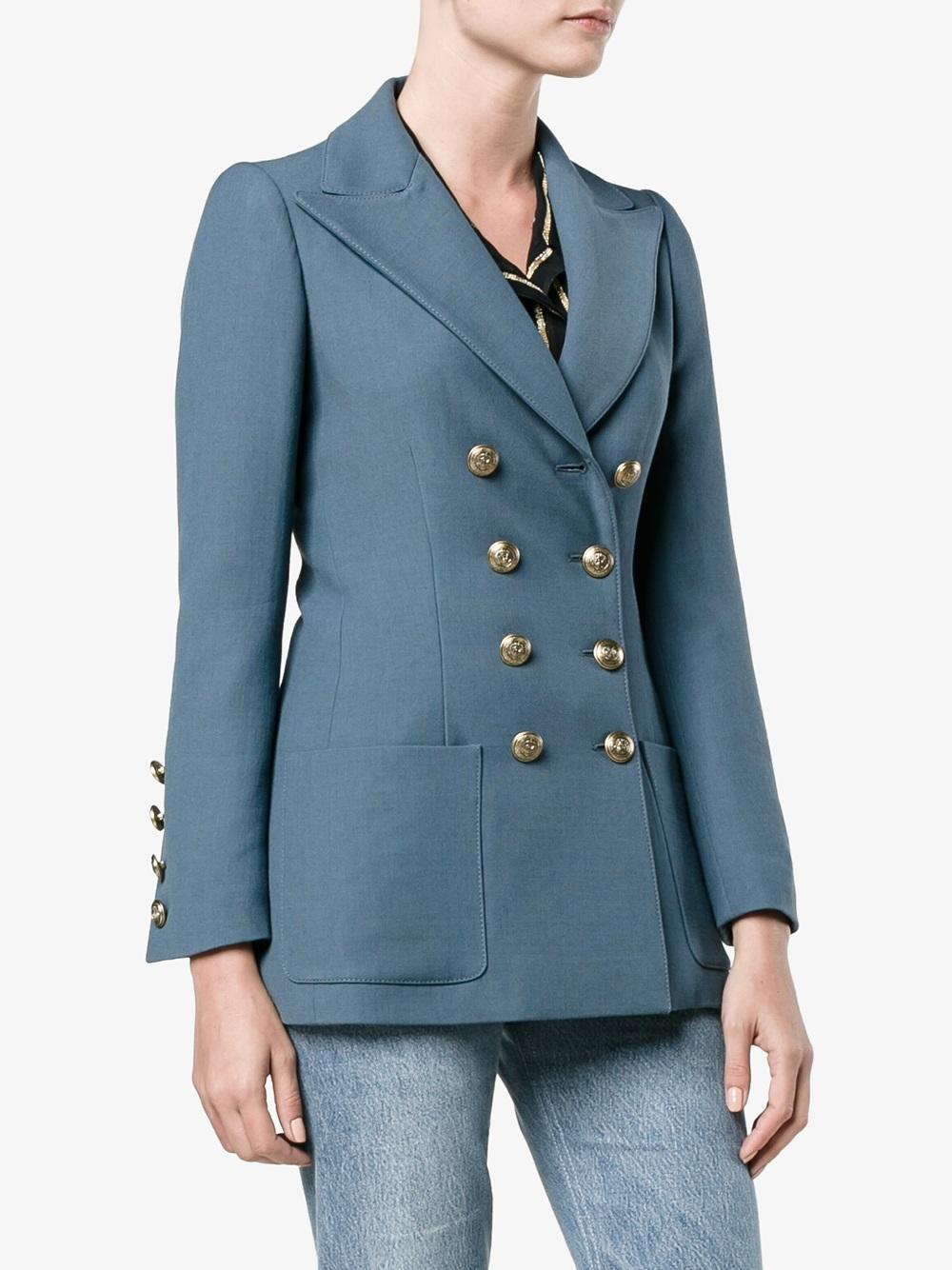 Philosophy di Lorenzo Serafini jacket in blue