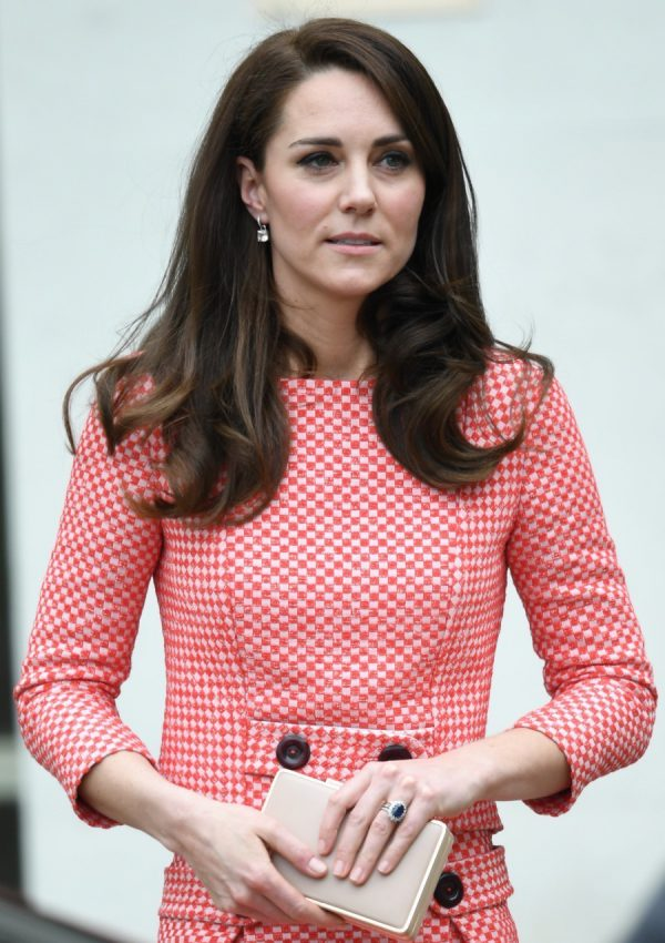 Catherine Duchess Of Cambridge visits the Royal College Of Obstetricians and Gynaecologists in London