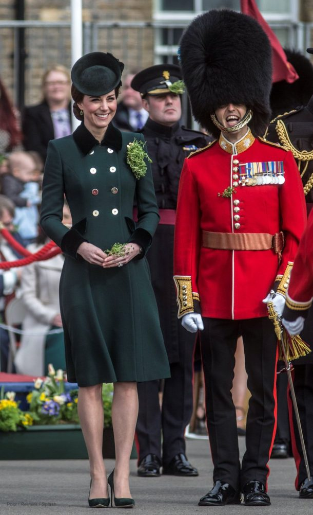 Kate Middleton's outfit on St Patrick's Day 2017