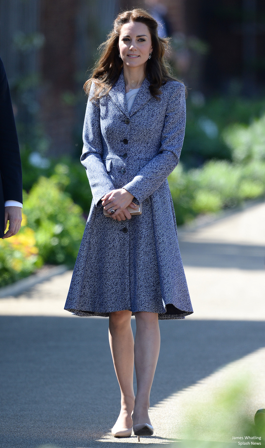 The Duchess of Cambridge officially opens the Magic Garden at Hampton Court Palace, London, UK, on the 14th April 2016. Pictured: Duchess of Cambridge, Catherine, Kate Middleton