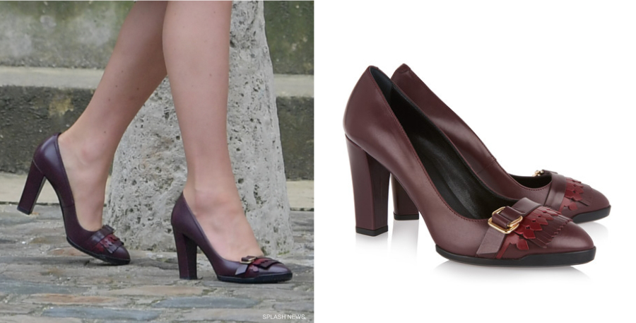 Kate Middleton wearing Tod's Shoes
