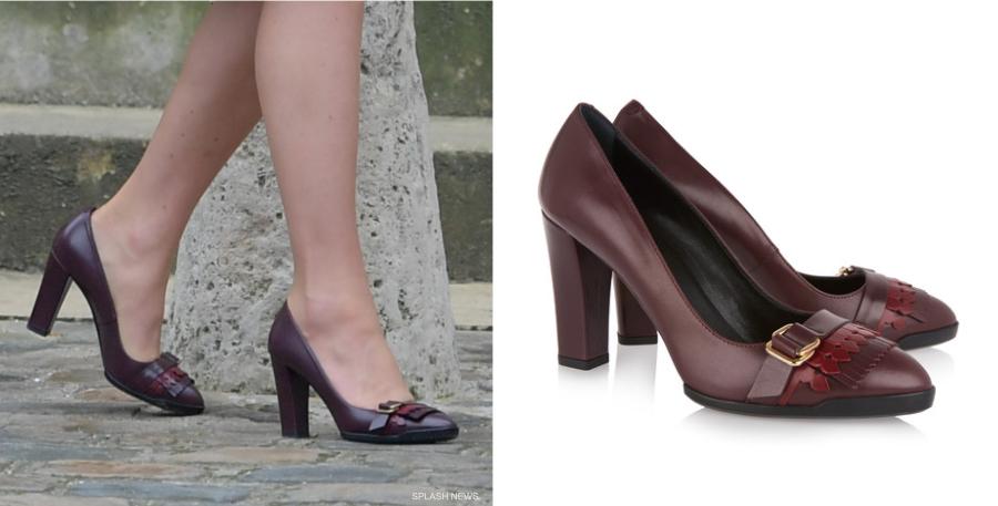 Kate Middleton wearing Tod's Shoes