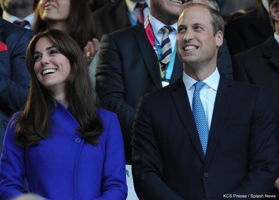 William and Kate attend the 2015 Rugby World Cup