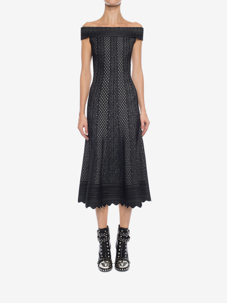 Black Alexander McQueen Dress