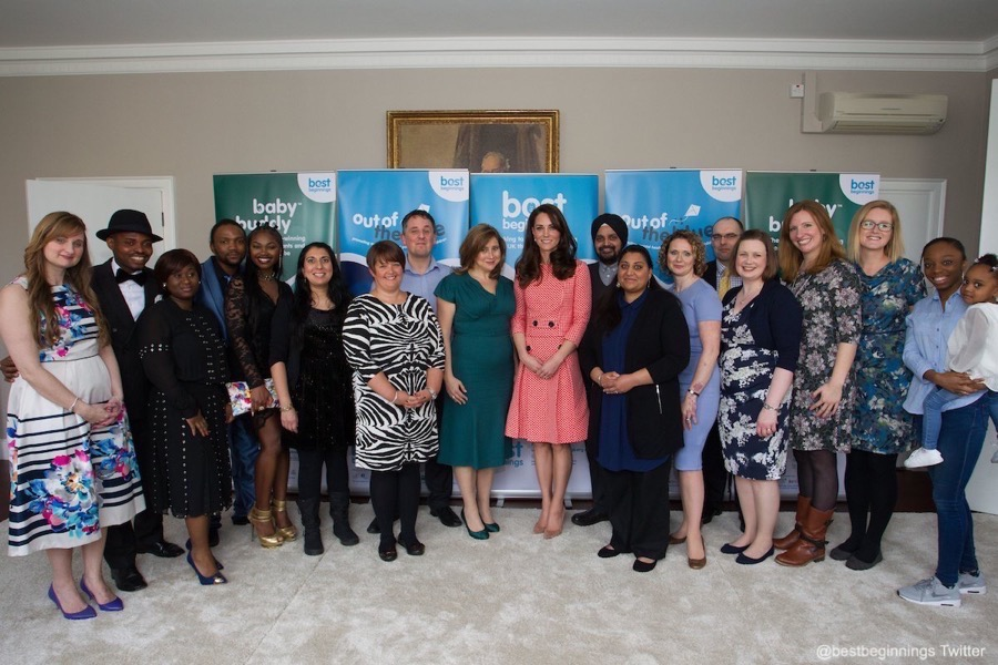 Kate Middleton visiting Best Beginnings
