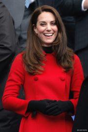Kate Middleton wearing Carolina Hererra in Paris