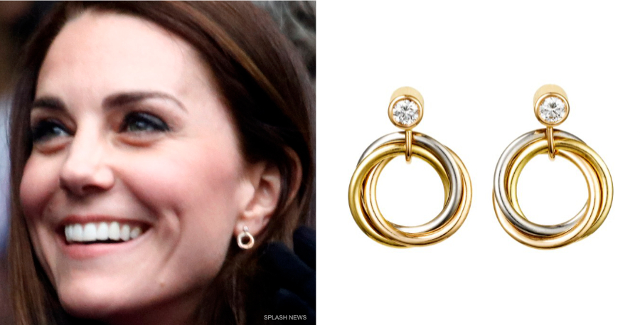 Kate Middleton's Trinity Earrings